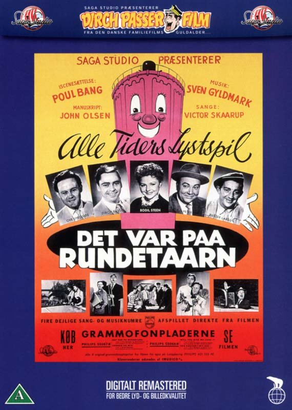 Image of   Det Var På Rundetårn - DVD - Film