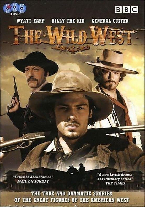Det Vilde Vesten - Den Komplette Serie - DVD - Tv-serie