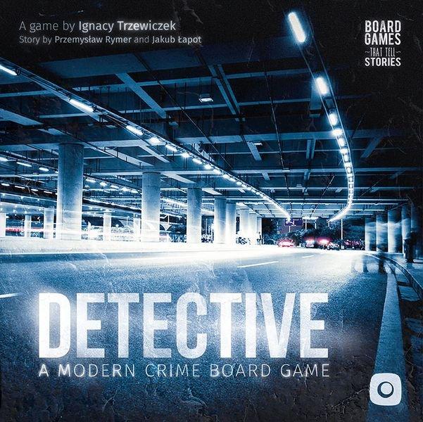 Detective: A Modern Crime Board Game - Brætspil - Engelsk