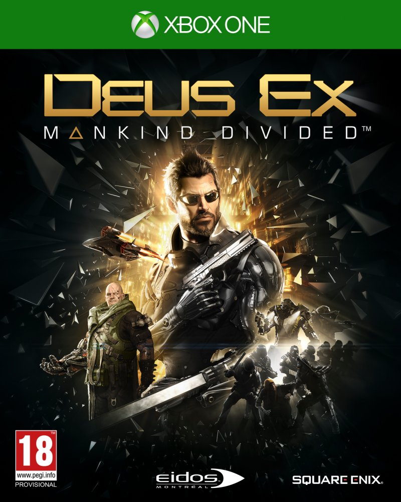 Image of   Deus Ex: Mankind Divided - Xbox One