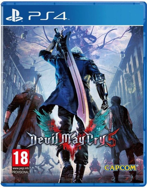 Image of   Devil May Cry 5 (nordic) - PS4