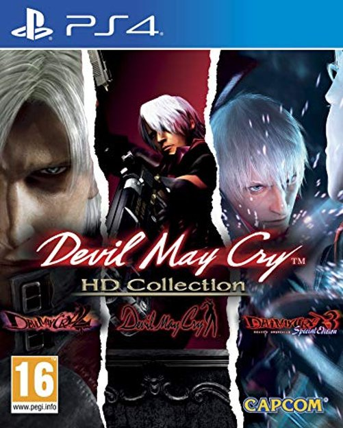 Image of   Devil May Cry Hd Collection - PS4