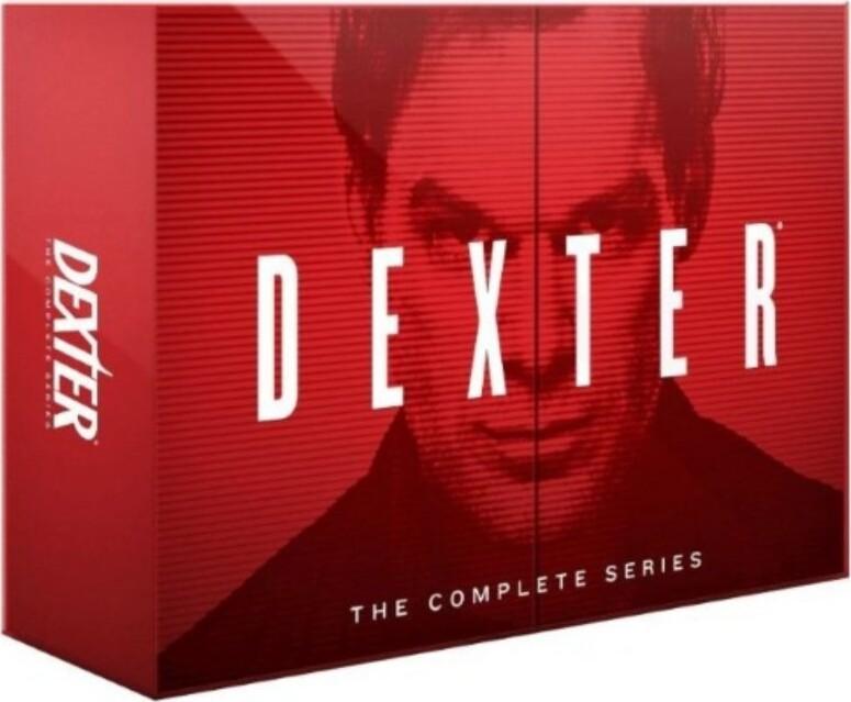Dexter Box - Komplet - Sæson 1-8 - Blu-Ray - Tv-serie