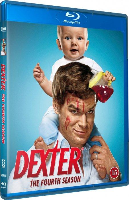 Dexter - Sæson 4 - Blu-Ray - Tv-serie