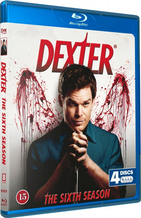 Image of   Dexter - Sæson 6 - Blu-Ray - Tv-serie