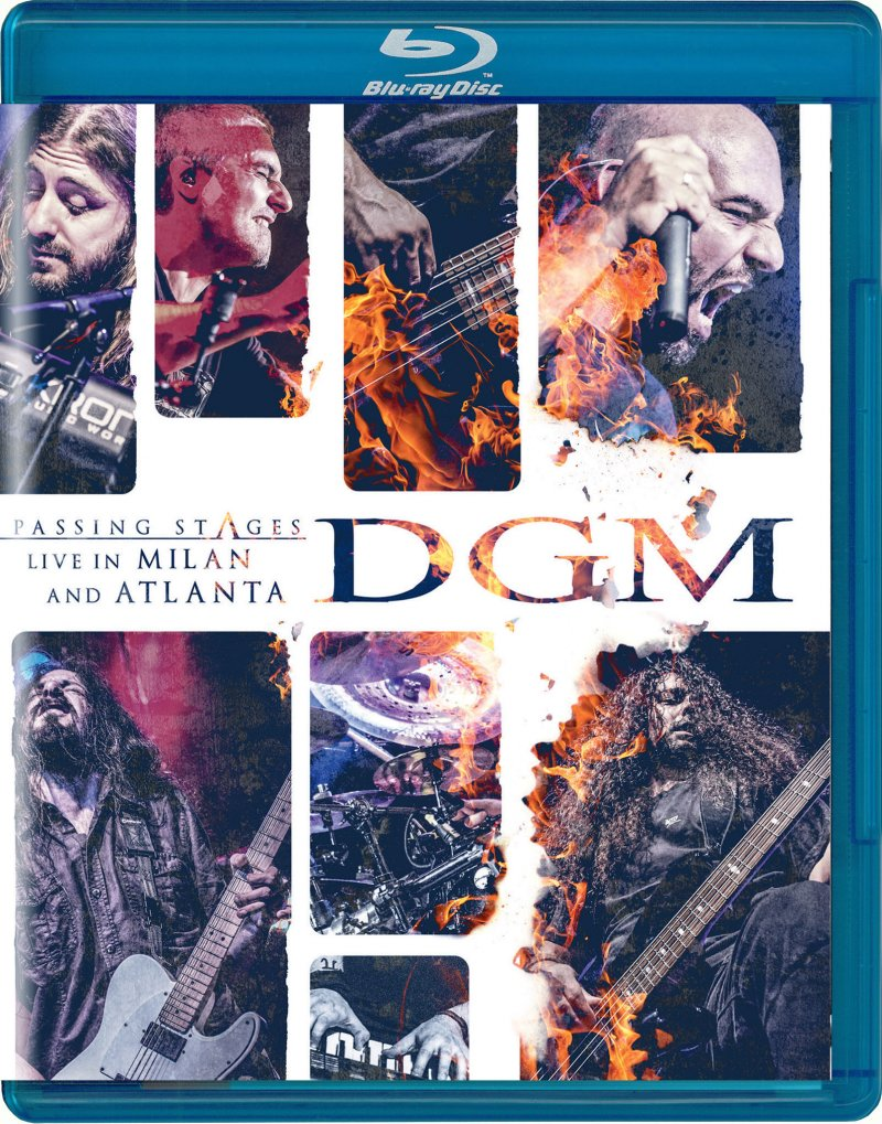 Image of   Dgm - Passing Stages - Live In Milan And Atlanta - Blu-Ray