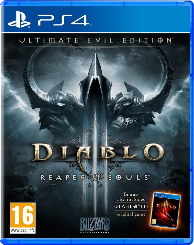 Image of   Diablo Iii (3): Reaper Of Souls - Ultimate Evil Edition - PS4