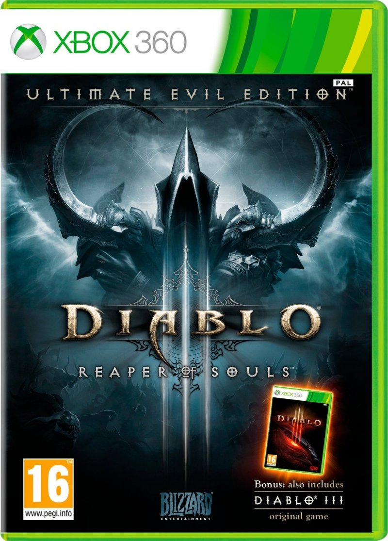 Diablo Iii (3): Reaper Of Souls - Ultimate Evil Edition - Xbox 360
