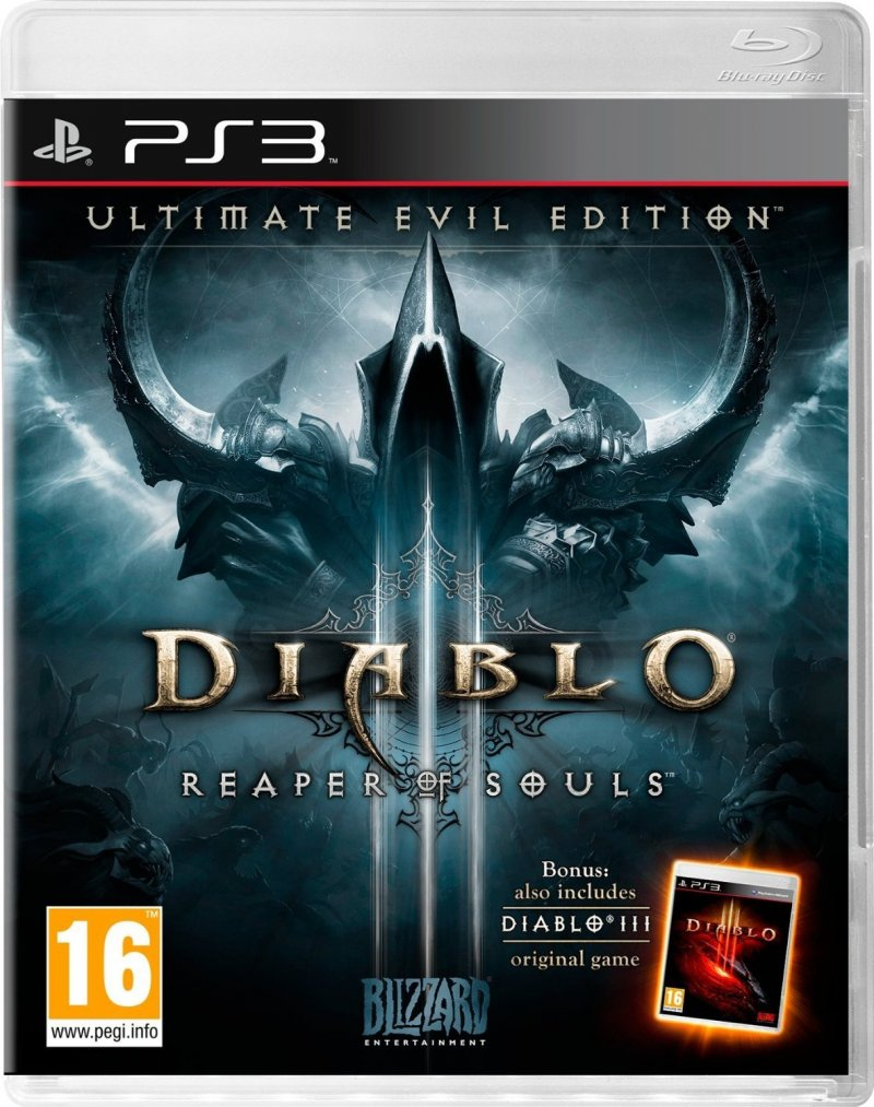 Image of   Diablo Iii (3): Reaper Of Souls - Ultimate Evil Edition - PS3