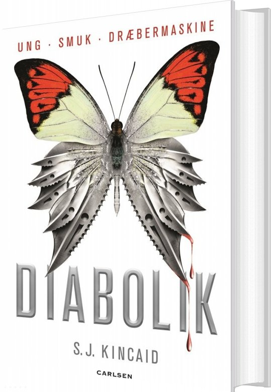 Diabolik - S. J. Kincaid - Bog