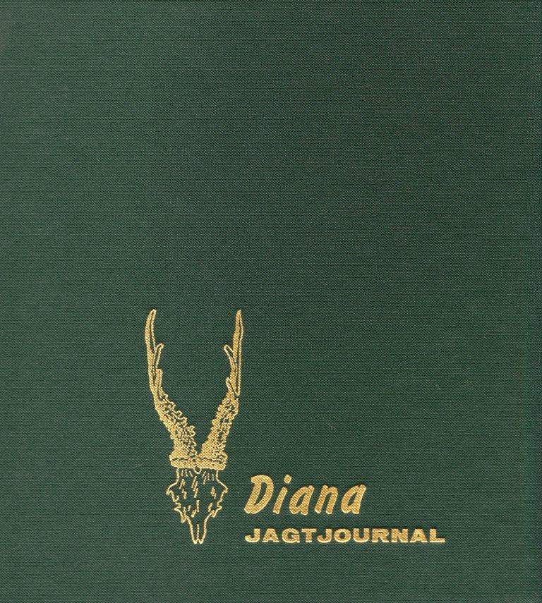 Image of   Diana Jagtjournal - Hans Kristensen - Bog