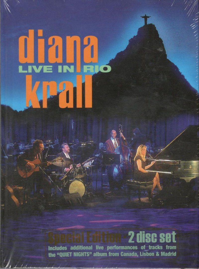 Image of   Diana Krall - Live In Rio Special Edition - DVD - Film