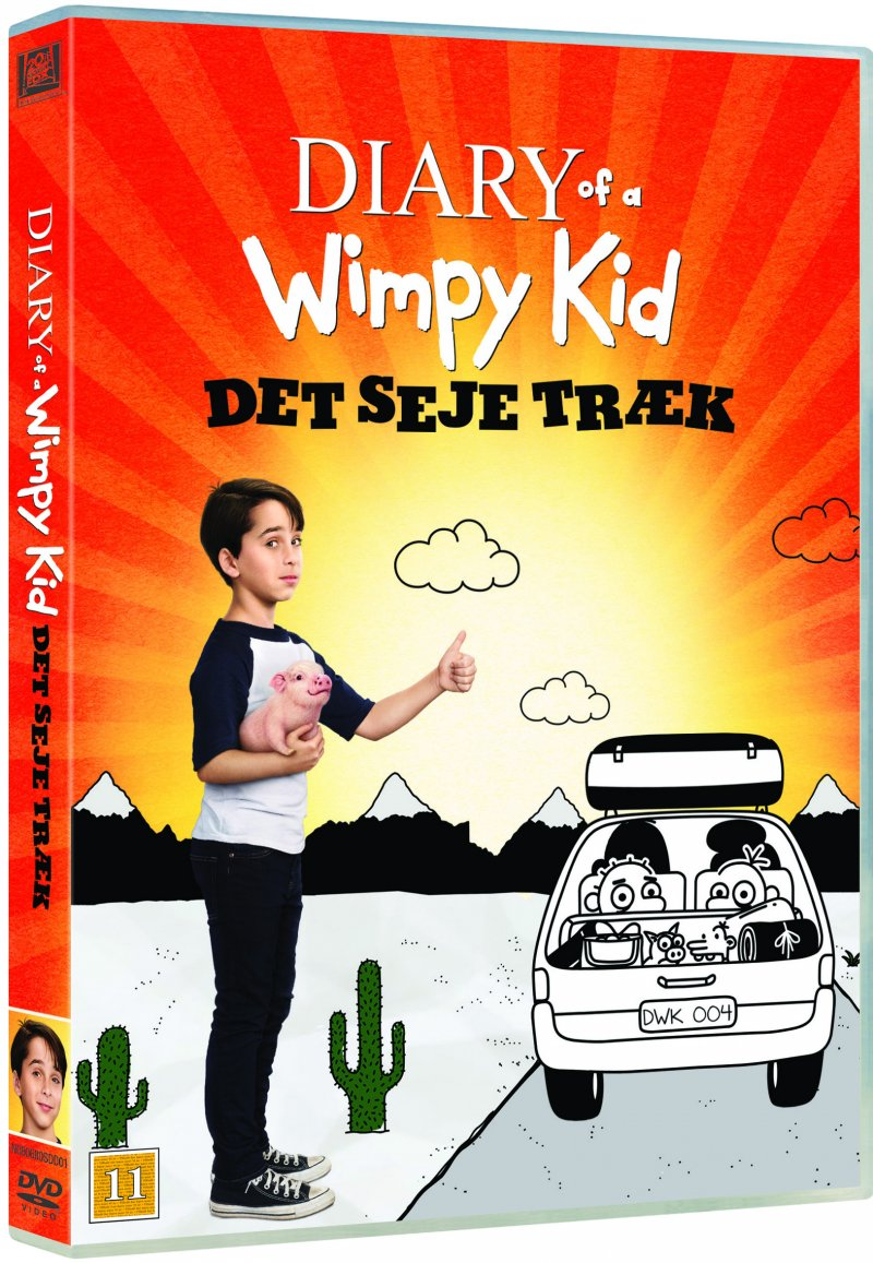 Billede af Diary Of A Wimpy Kid 4: The Long Haul - DVD - Film