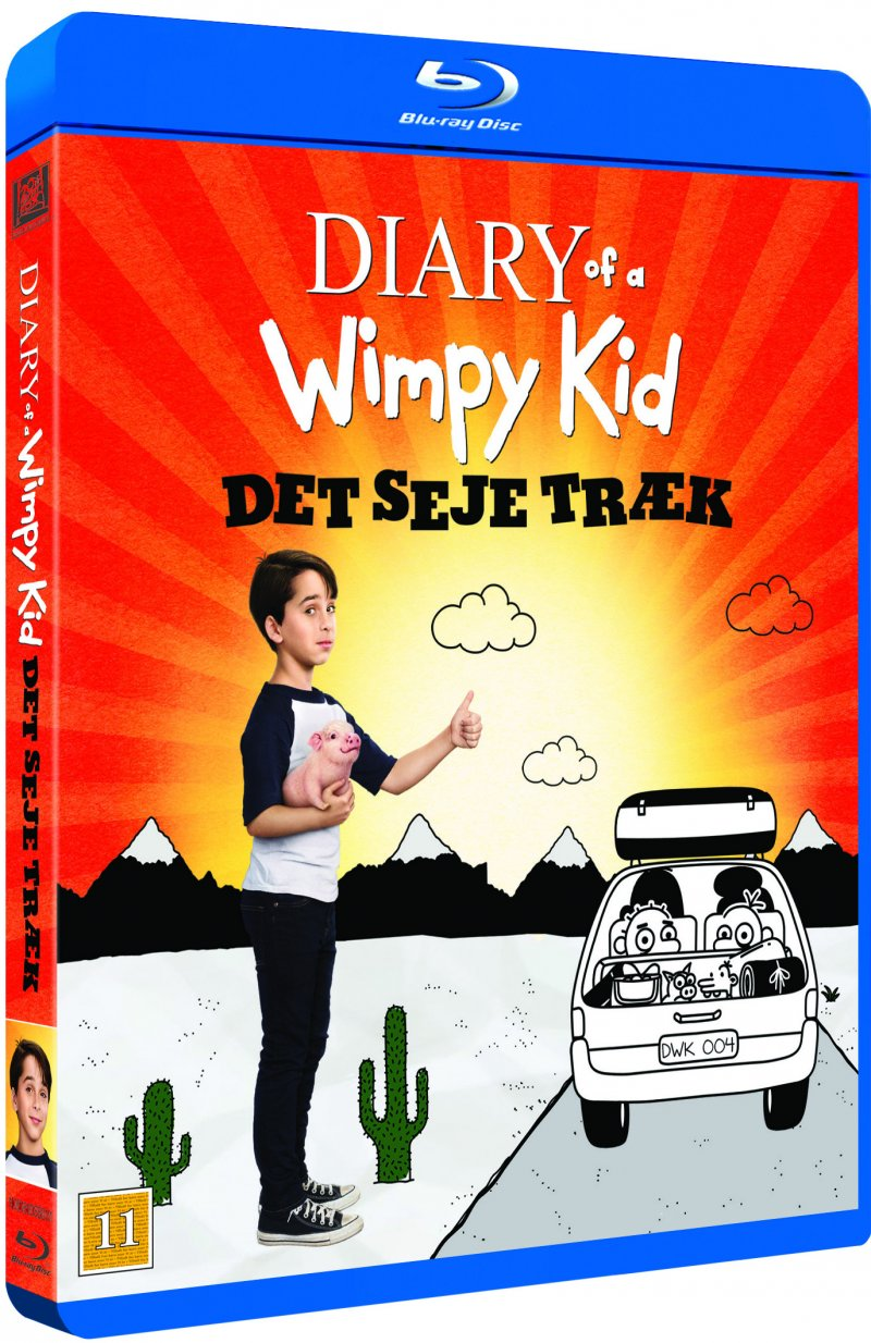 Image of   Diary Of A Wimpy Kid 4: The Long Haul - Blu-Ray