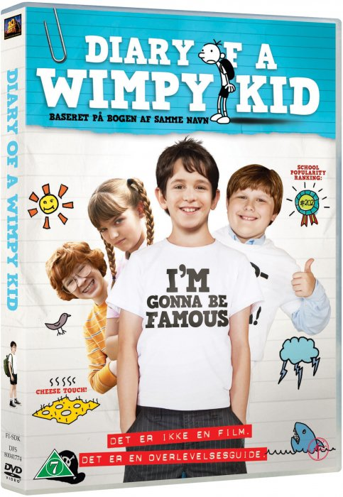 Image of   Diary Of A Wimpy Kid - DVD - Film