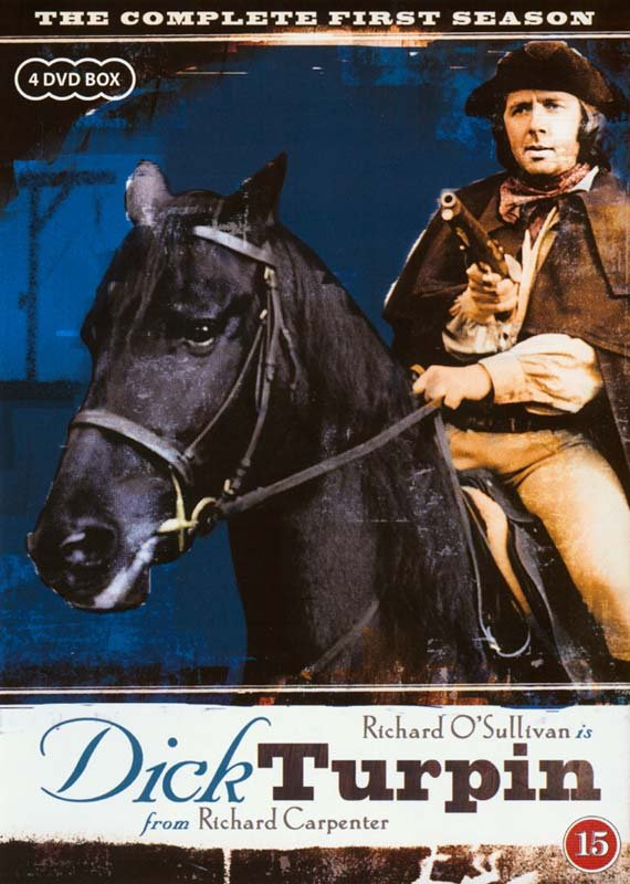 Image of   Dick Turpin - Sæson 1 - DVD - Tv-serie