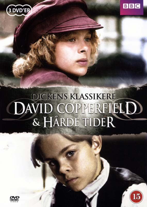Dickens Klassikere - David Copperfield / Hårde Tider - DVD - Tv-serie