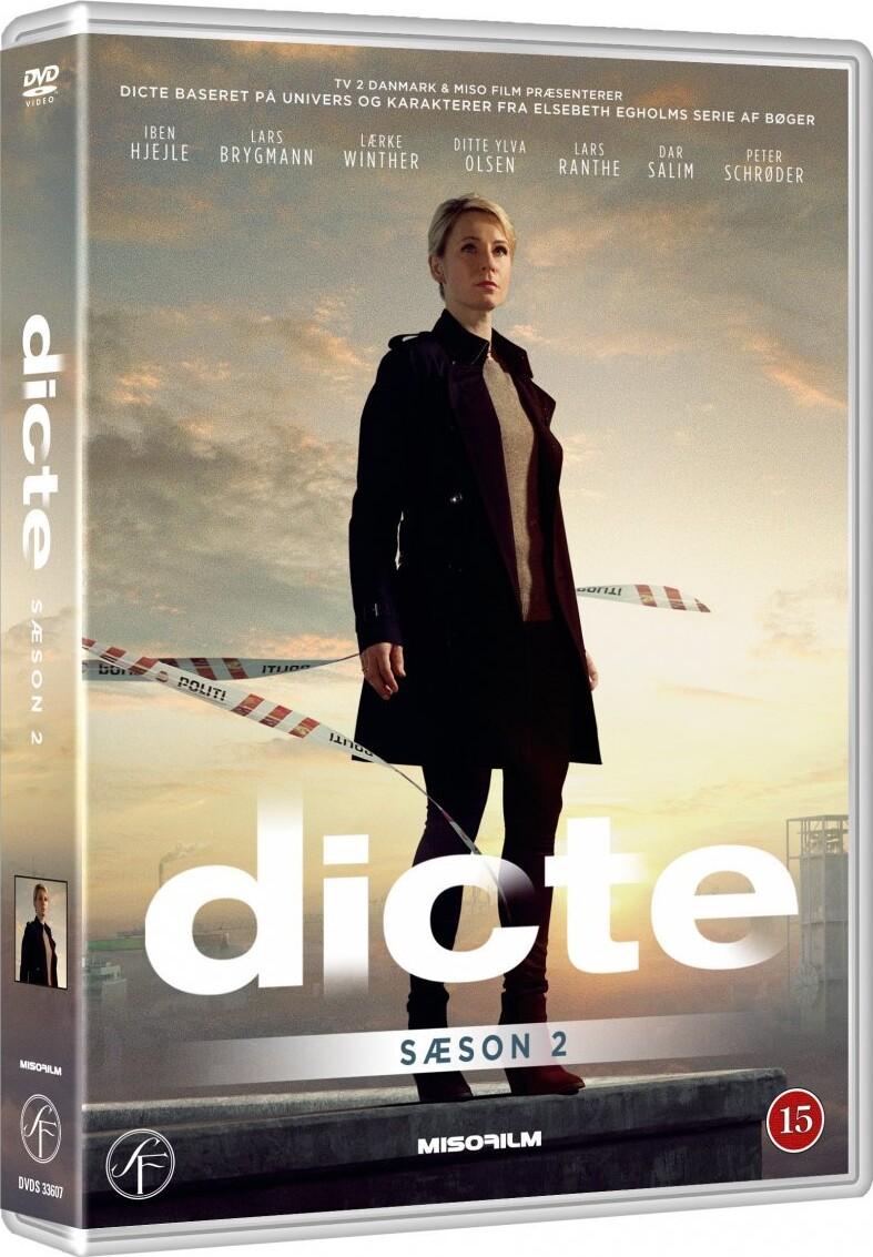 Dicte - Sæson 2 - DVD - Tv-serie