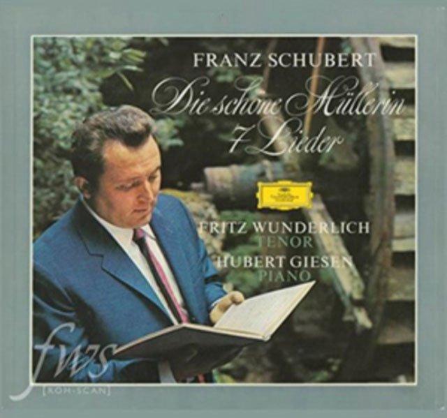 Image of   Wunderlich Fritz - Die Schöne Müllerin - Vinyl / LP