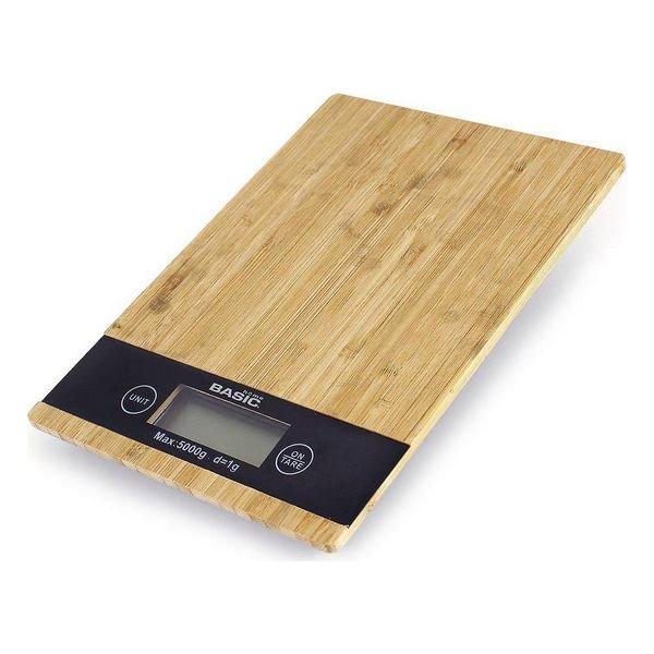 Image of   Digital Køkkenvægt - Basic Home - Maks 5 Kg - Træ