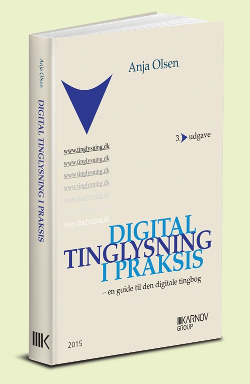 Image of   Digital Tinglysning I Praksis - Bog