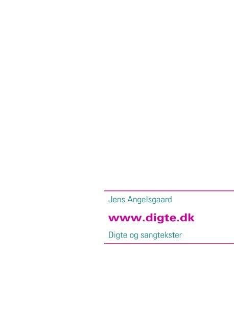 Digte Fra Www.digte.dk - Jens Angelsgaard - Bog