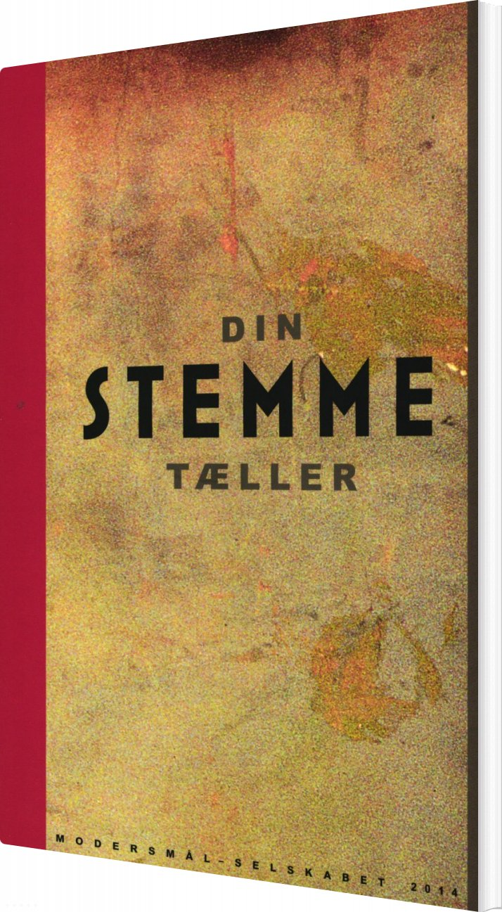 Image of   Din Stemme Tæller - Michael Blædel - Bog