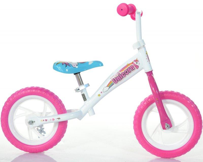 Billede af Dino Bikes - Løbecykel - 12'' Tommer - Enhjørning