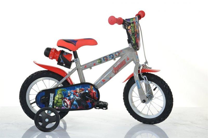 Billede af Avengers Cykel - 12 Tommer - Dino Bikes