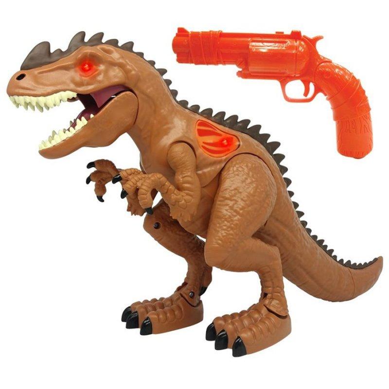 Image of   Dinsaur Legetøj Figur Med Pistol - Skyd Dino