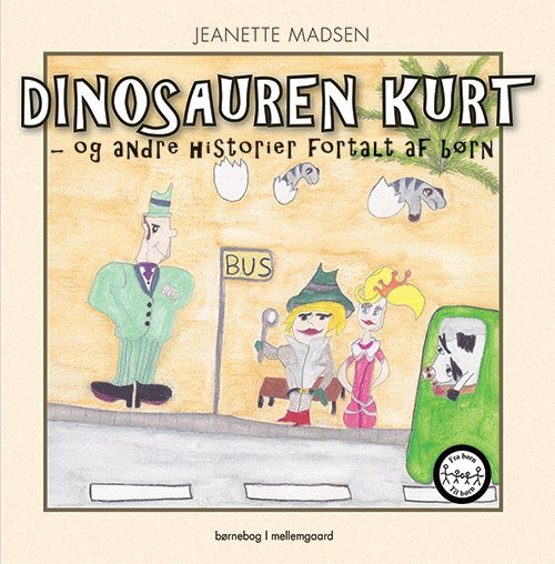 Image of   Dinosauren Kurt - Jeanette Madsen - Bog