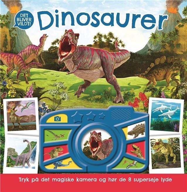 Billede af Dinosaurer Med Lyd - Diverse - Bog