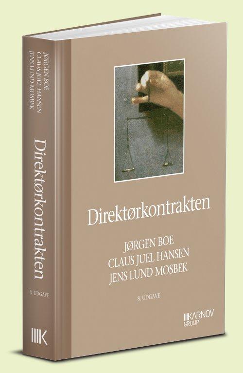 Image of   Direktørkontrakten - Jørgen Boe - Bog