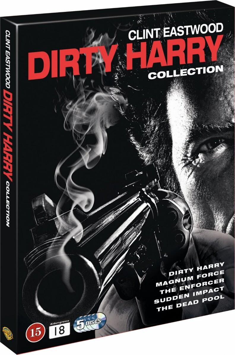 Billede af Dirty Harry Collection Box - DVD - Film