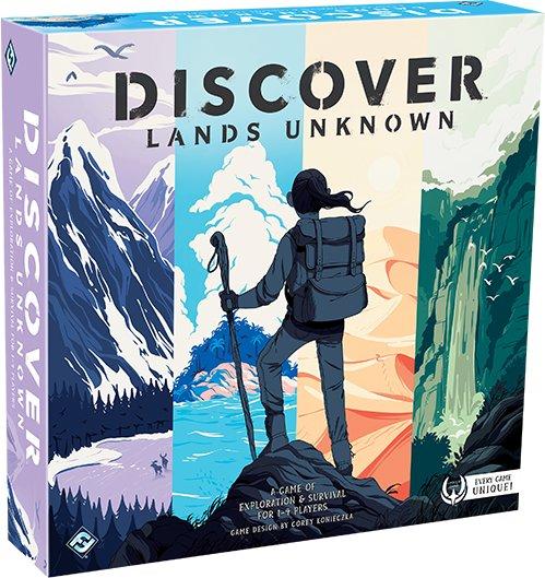 Discover: Lands Unknown - Brætspil
