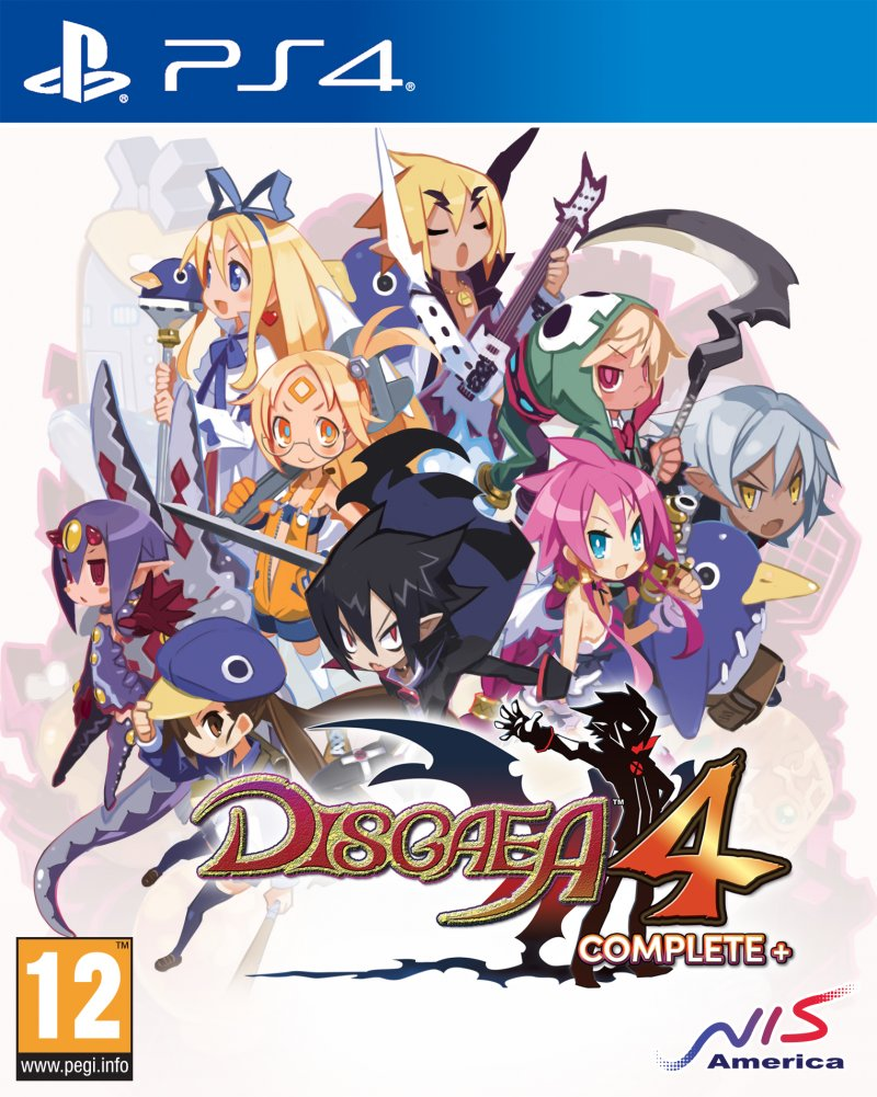 Image of   Disgaea 4 Complete+ - Promise Of Sardines Edition - PS4