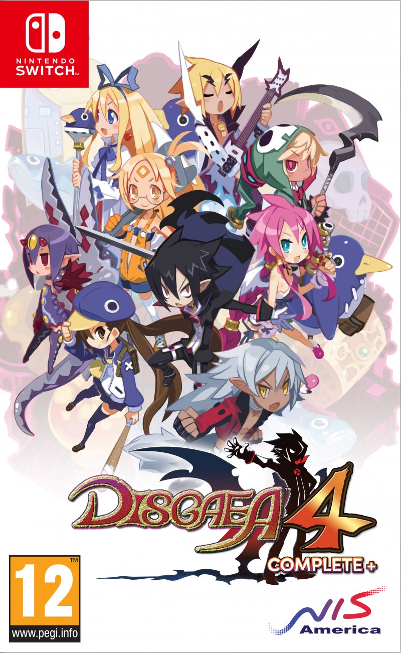 Image of   Disgaea 4 Complete+ - Promise Of Sardines Edition - Nintendo Switch