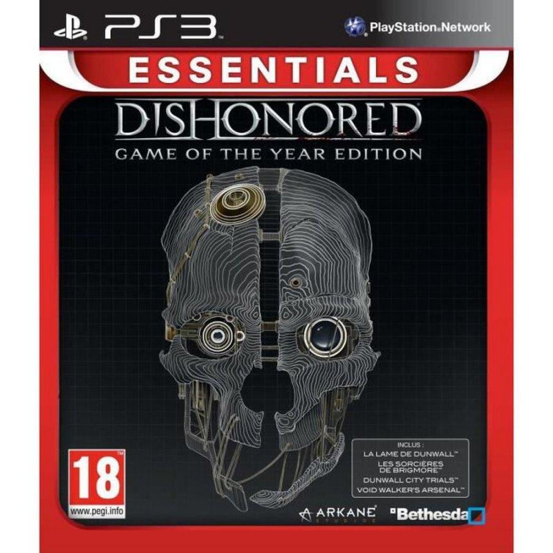 Image of   Dishonored - Game Of The Year Edition (essentials) - PS3