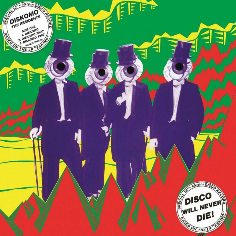 The Residents - Diskomo / Goosebump - Ep - Vinyl / LP