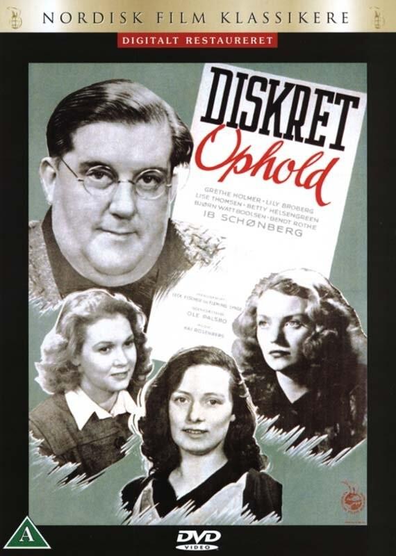 Image of   Diskret Ophold - DVD - Film
