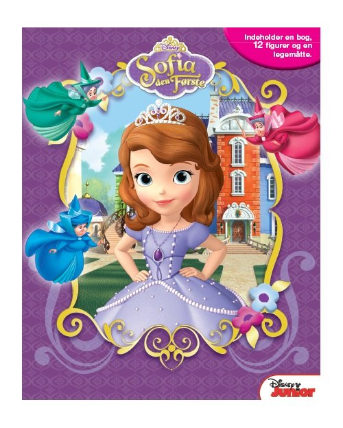 Disney Busy Book / Legesæt - Prinsesse Sofia