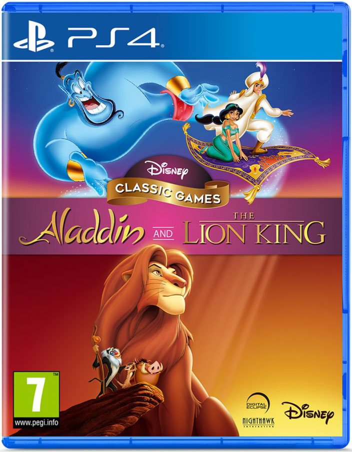 Image of   Disney Classic Games: Aladdin And The Lion King - PS4