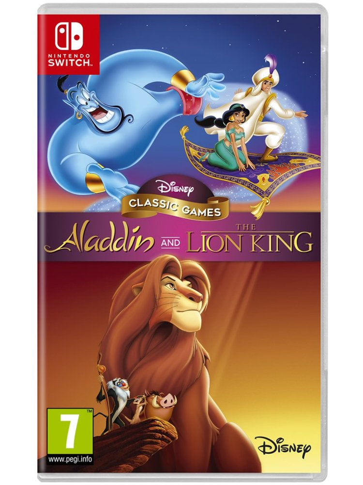 Image of   Disney Classic Games: Aladdin And The Lion King - Nintendo Switch