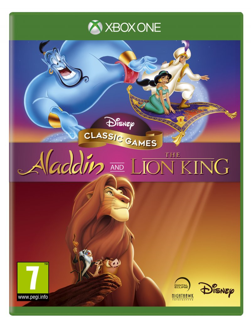 Image of   Disney Classic Games: Aladdin And The Lion King - Xbox One