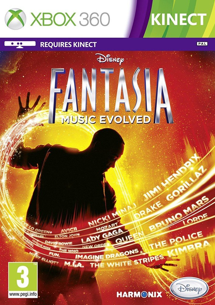 Disney Fantasia: Music Evolved (xbox 360) - Xbox 360