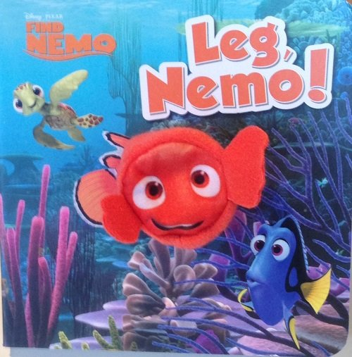 Image of   Disney Fingerdukkebog - Find Nemo - Bog