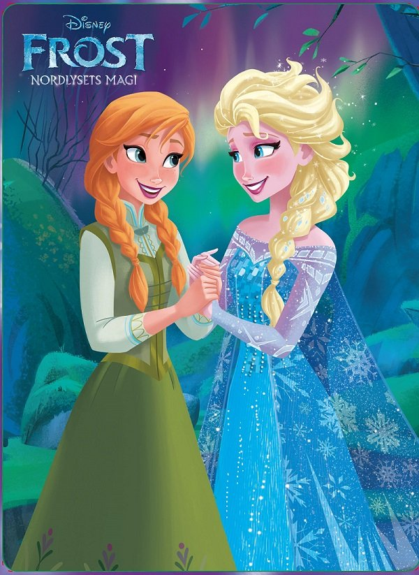 Image of   Disney Happy Tin - Nordlysets Magi - Disney - Bog