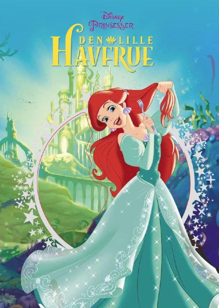 Image of   Disney Klassikere - Den Lille Havfrue - Disney Klassikere: Prinsesser - Bog