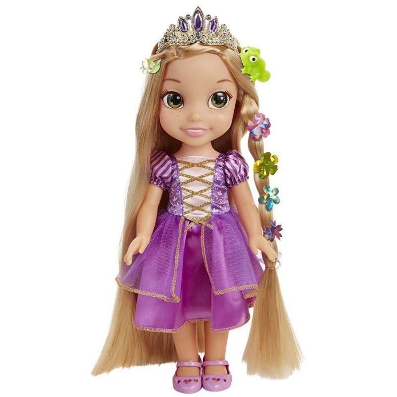 Image of   Disney Princess - Lysende Rapunzel Dukke - Engelsk