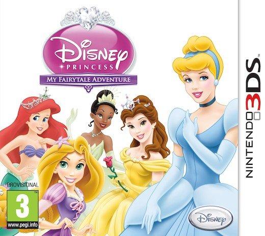 3a87c418c Disney Princess My Fairytale Adventure - Dk/Se/No - Nintendo 3Ds